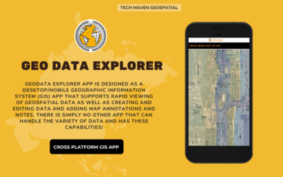 Announcing the Release of Geo Data Explorer App