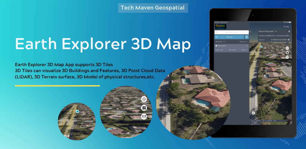 Announcing the Release of Earth Explorer 3D Map