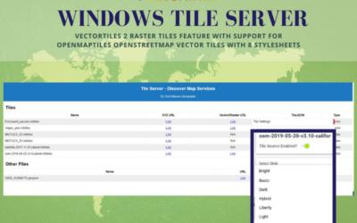Windows Tile Server