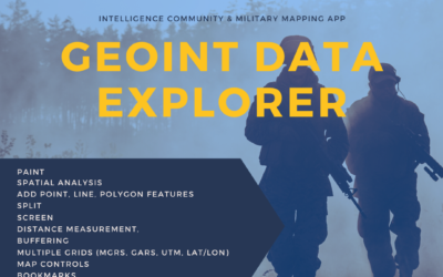 ANNOUNCING RELEASE OF GEOINT DATA EXPLORER ON NGA's GEOINT APP STORE